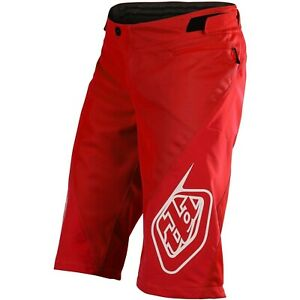 Troy Lee Designs Sprint Shorts Youth Kids TLD MTB BMX Downhill DH Gear 2020 RED