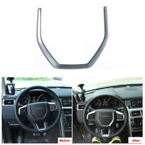 Car Steering Wheel Cover Center Trim For Land Rover Discovery Sport 2015-2018