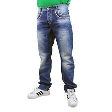 Cipo&Baxx c-1127 Vaqueros Hombre regular fit pantalón, color: azul, 14204