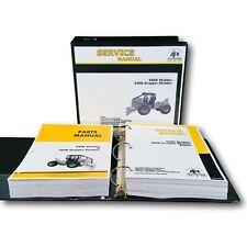 Service Manual Parts Catalog Set For John Deere 540d 548d Grapple Skidder Binder