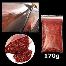 6oz/170g PET 0.4mm Dark Red Metal Flake Auto Car Paint Sequins Additive Decor