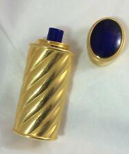 Rare Vintage (90s) Jaipur Purse Spray Rechargable Boucheron Blue Cabochon Cap