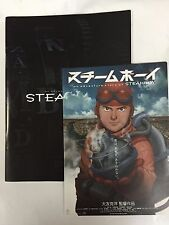 New Steamboy Movie Program and Flyer Katsuhiro Otomo Japan Rare Akira Manga F/S