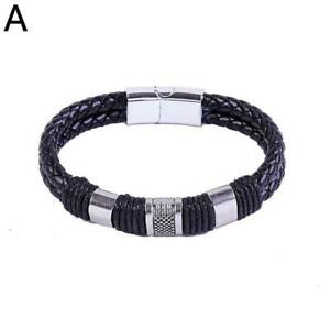 Magnetic Man Charm Masculinity Leather Bracelet (50%OFF)