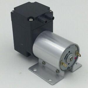 80Kpa Mini Vacuum Pump DC 12V Small Vacuum Suction Pump Diaphragm Pump Micro-Vac