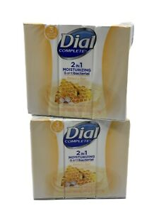 6 Bars Dial Complete 2 in 1 Manuka Honey Moisturizer & Antibacterial Beauty Soap