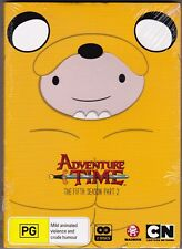 Adventure Time - The Fifth Season Part 2 - DVD (Brand New Sealed) Region 4