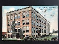 Postcard Dayton OH - Inventions Building at the National Cash Register Works