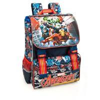 Marvel Avengers PREMIUM Expandable Backpack Rucksack Boys School Travel Bag