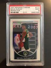 PSA 9 KEVIN DURANT bowman chrome rc refractor /299 NBA CHAMPS 2X  HIGH END HOF ?