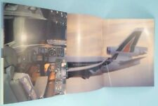 ALITALIA MD 11 md-11 welcome on board BROCHURE airline memorabilia  poster aa