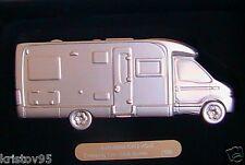 RENAULT MASTER CAMPING CAR BURSTNER RESINE NOREV 1/55 BOITE COFFRET