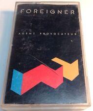 FOREIGNER tape Cassette AGENT PROVOCATEUR  1984 Atlantic Records Canada WEA