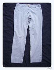 Biba Trousers Oriental Glam Stone Grey Size 42 UK16 NEW