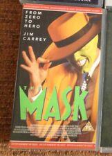 The Mask VHS video Jim Carrey 1994