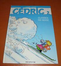 Laudec / Cauvin - Cédric 2 - Classes de neige - Dupuis