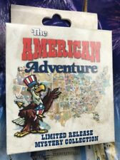 Disney Pin The American Adventure Mystery Collection One Sealed Box New 2 Pins