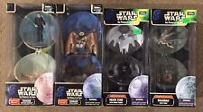 Star Wars The Power of the Force Complete Galaxy set of 4 NIB