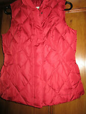 Eddie Bouer fitted Gilet 'goose down' SIZE M NEW WITH LABLES ATTACHED