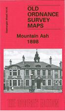 OLD ORDNANCE SURVEY MAP MOUNTAIN ASH 1898