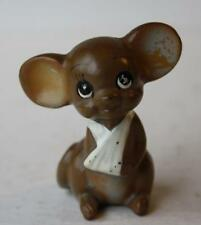 Josef Originals Broken Arm Bandage Mouse Figurine From The Mouse Village Series