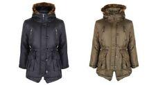 Manteaux, vestes et tenues de neige imperméable noir pour fille de 2 à 16 ans Hiver