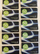 Thuraya Satellite Phone Airtime Recharge - 50 Units PIN Top-up