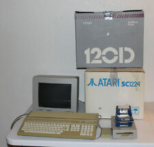 Atari 1040St, Sc1224 Monitor, Printer, Manuals, Accessories and Disks, Tested