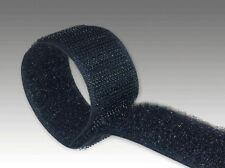 Doppelseitige Klettband Rolle, 820 gr/m², Breite 20mm, 3 Meter, schwarz