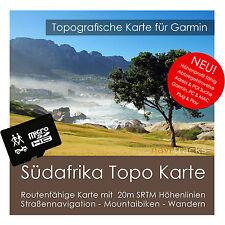 Südafrika Topo GPS Karte Garmin 4GB microSD Swaziland & Lesotho + Straßenkarte