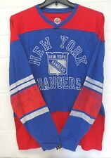 New York rangers Men's L G-III Neutral Zone Slub Jersey Fashion Top 079