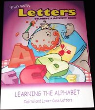 New FUN WITH LETTERS Coloring & Activity Booklet: Alphabet, Capitals, Lower Case
