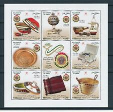 OMAN COMPLETE SET ON SHEET HAND CRAFT  COLLECTION MNH