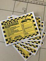PARKING VIOLATION - NO PARKING STICKER, Parking Enforcement Company stickers