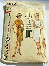 New ListingVintage Simplicity Sewing Pattern 4947 Dress Size 14