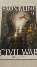 Civil War Frontline #1 October 2006 Marvel Comics The Accused