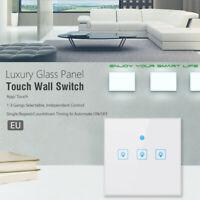 EU Smart WiFi Three Way Button Switch For Amazon Alexa/Google Home App Control