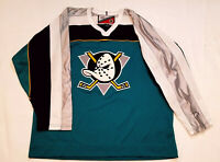 Anaheim Ducks jersey mighty PROPLAYER RARE mens xl large third alternate nhl