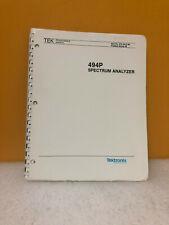 Tektronix 070-4415-00 494P Spectrum Analyzer Programmer Manual