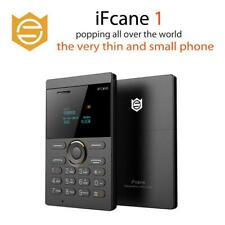 iFcane E1 Unlocked Ultrathin Pocket Phone 3H SIM Card Bluetooth Mini Cellphone