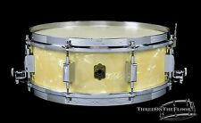 Leedy 1930s  Broadway Parallel Model Vintage Snare Drum : 5 x 14 :  WMP