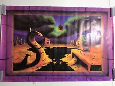 Superficial Diversion Poster 23 x 35 Blacklight UV Surrealism New in Package