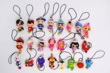Wholesale Lots colorful 5ps FIMO polymer clay Animal Mobile phone chain jewelry