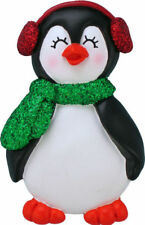 Penguin with Female Name Kayla Personalized Christmas Tree Ornament