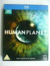 Human Planet - The Complete Series (Blu-ray, 2011, 3-disc set) with slip case