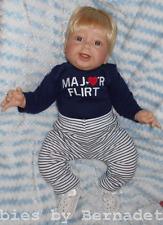 "Middleton *FIRST SMILE* Blonde Hair & Blue Eyes ~ 20"" by Reva Sculpt ~ GUC ~VHTF"