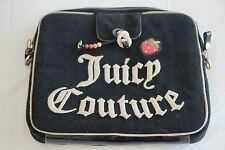 Rare Black Juicy Couture Laptop Sleeve - Strawberry Fields Collection