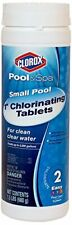 Pool&Spa Small Pool 1-Inch Chlorinating Floater Tablets 1.5-Pound Kills Bacteria