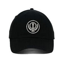 Sikhism Embroidered SOFT Unstructured Adjustable Hat Cap