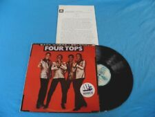 Four Tops - Back Where I Belong RARE Israel Made LP Promo Press Kit / Funk Soul